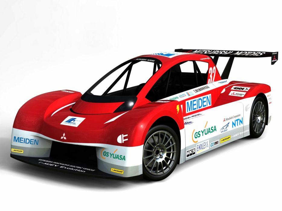 2012 Mitsubishi i-MiEV Evolution Pikes Peak race racing g wallpaper