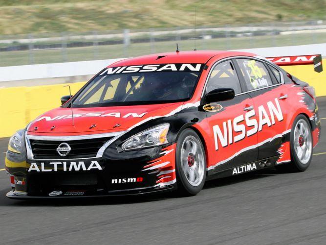 2012 Nissan Altima V-8 Supercar L33 race racing g wallpaper