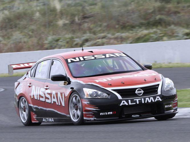 2012 Nissan Altima V-8 Supercar L33 race racing wallpaper