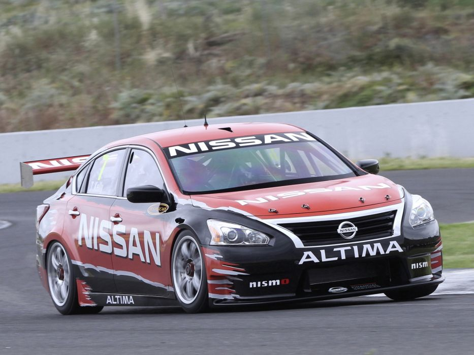 2012 Nissan Altima V-8 Supercar L33 race racing wallpaper