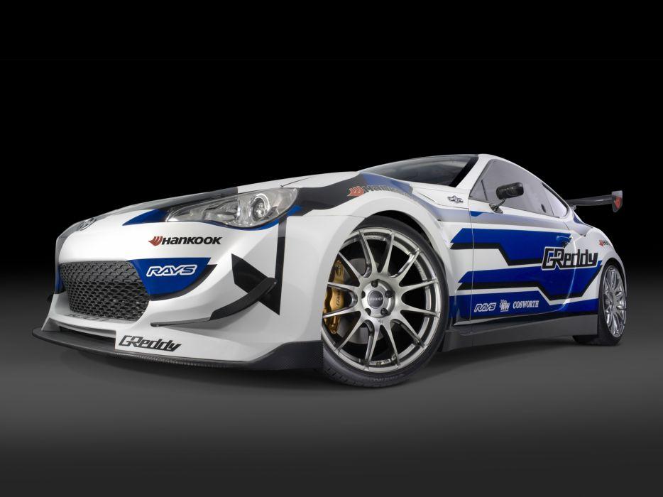 2012 Scion FR-S Drift race racing wheel wheels wallpaper