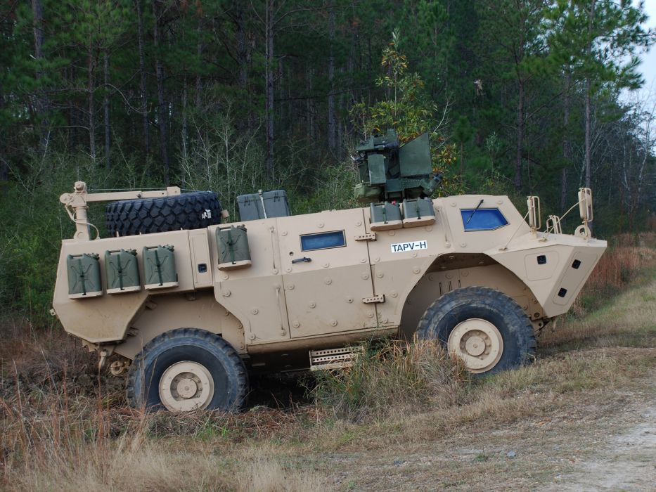 2012 Textron-Systems COMMANDO Elite TAPV 4x4 military     g wallpaper