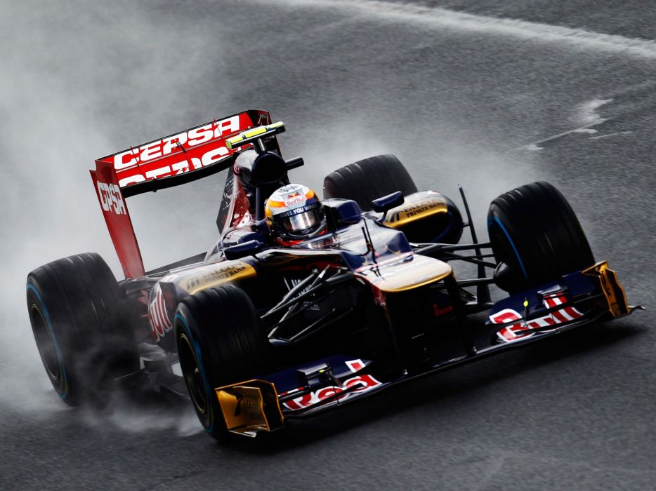 2012 Toro Rosso STR7 formula one race racing rain wallpaper