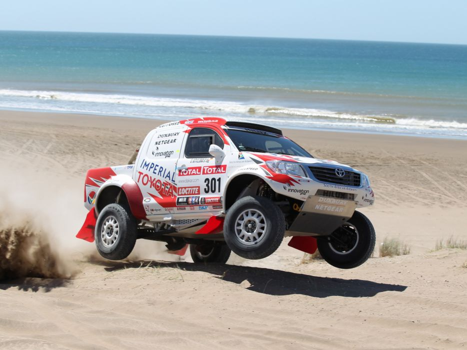 2012 Toyota Hilux Rally offroad race racing    g wallpaper