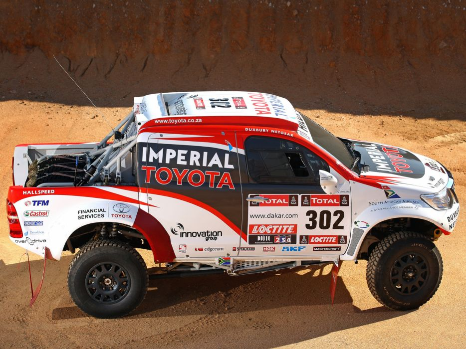 2012 Toyota Hilux Rally offroad race racing x wallpaper