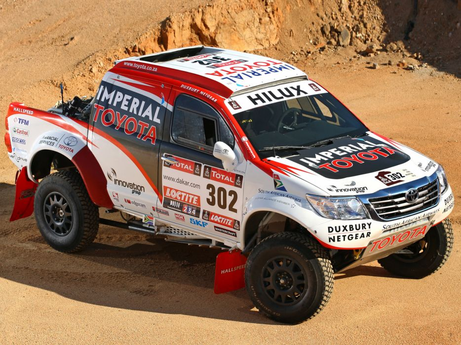 2012 Toyota Hilux Rally offroad race racing f wallpaper