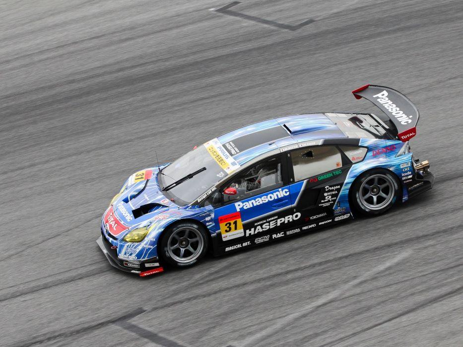 2012 Toyota Prius GT300 Super G-T race racing e wallpaper