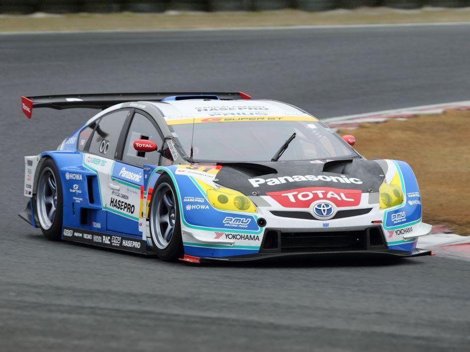 2012 Toyota Prius GT300 Super G-T race racing q wallpaper