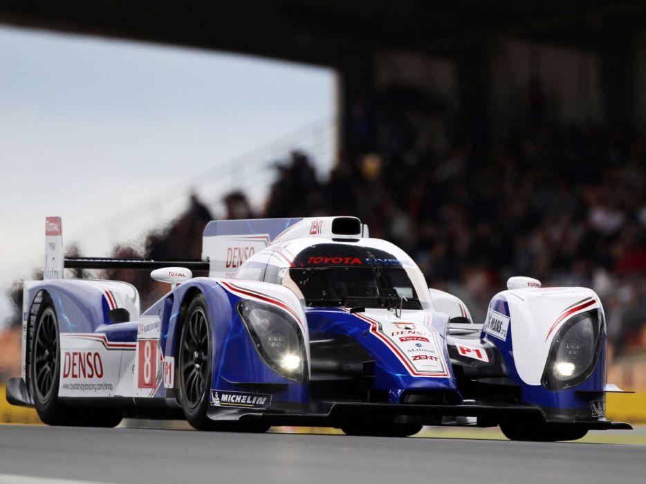 2012 Toyota TS030 Hybrid Le-Mans race racing  gr wallpaper