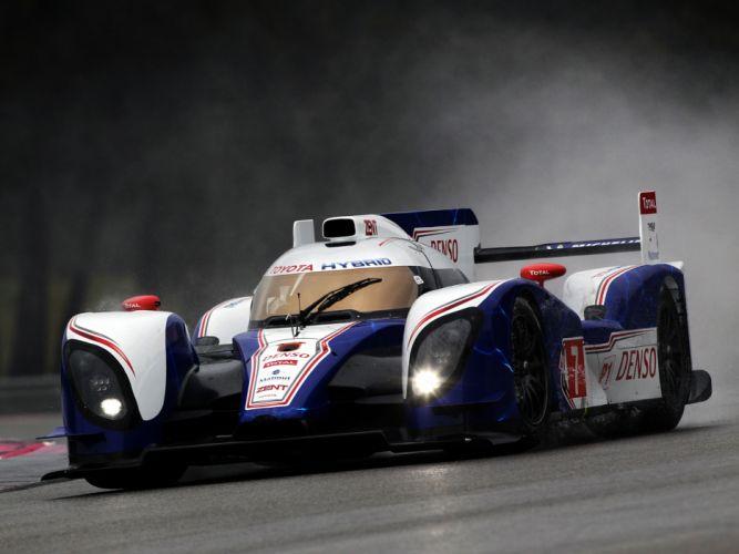 2012 Toyota TS030 Hybrid Le-Mans race racing r wallpaper
