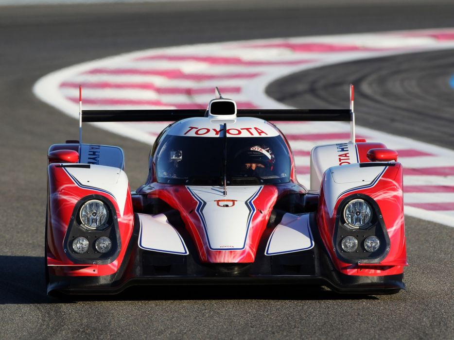 2012 Toyota TS030 Hybrid race racing a wallpaper