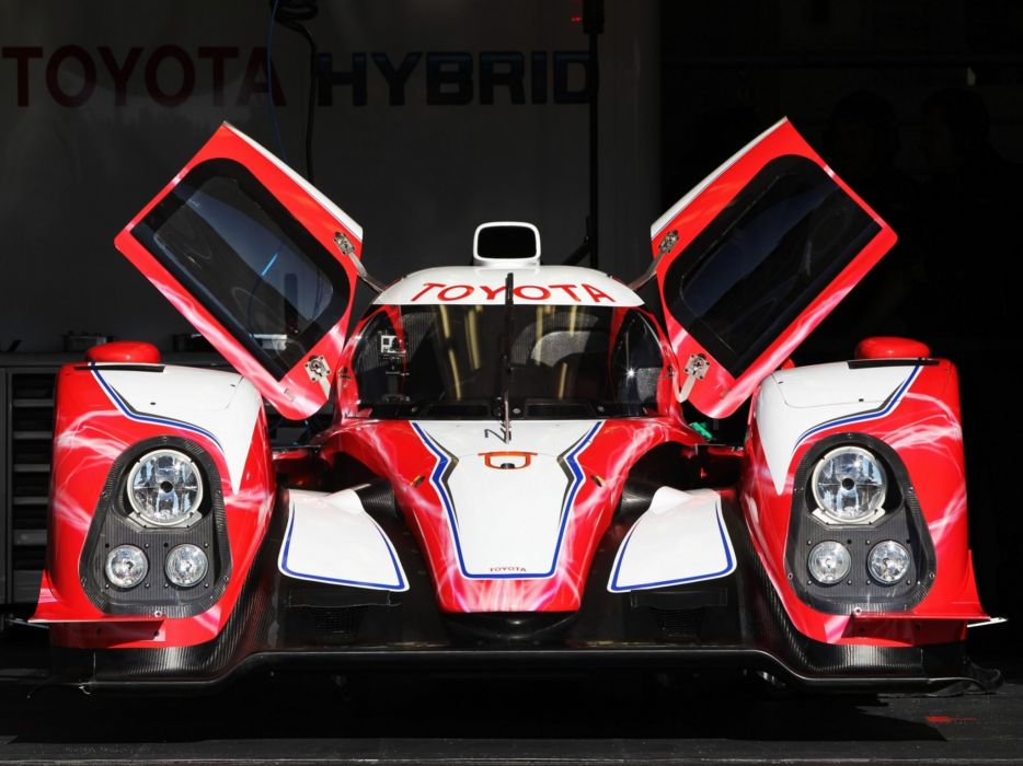 2012 Toyota TS030 Hybrid race racing c wallpaper