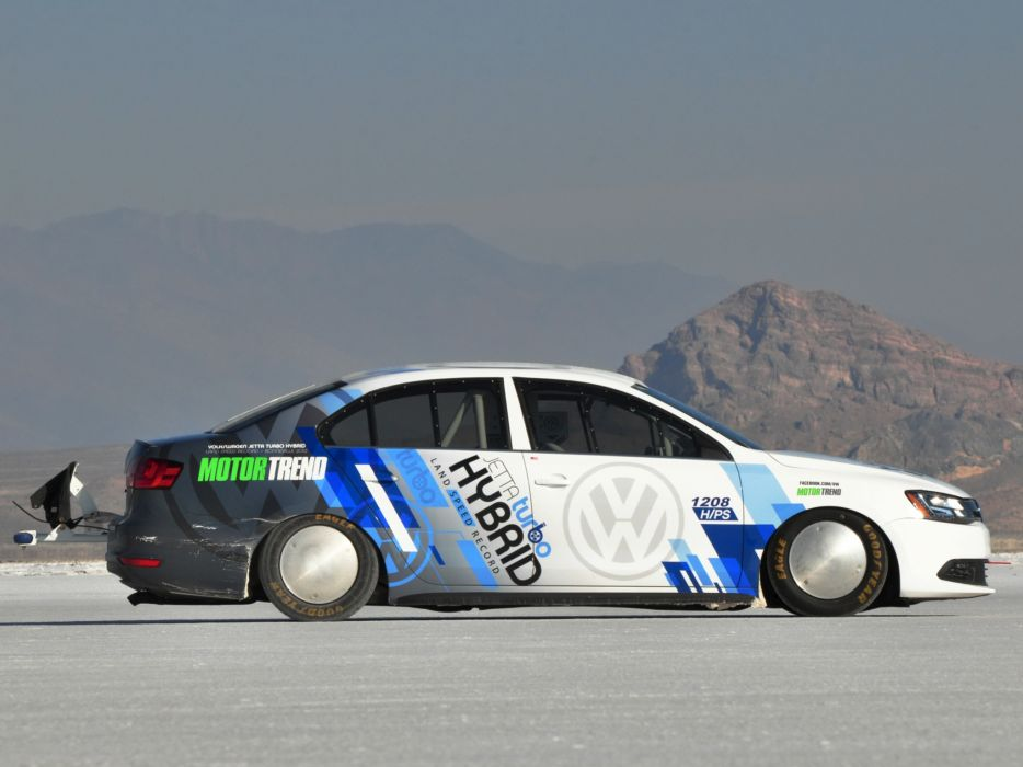 2012 Volkswagen Jetta Hybrid Typ-1B race racing f wallpaper