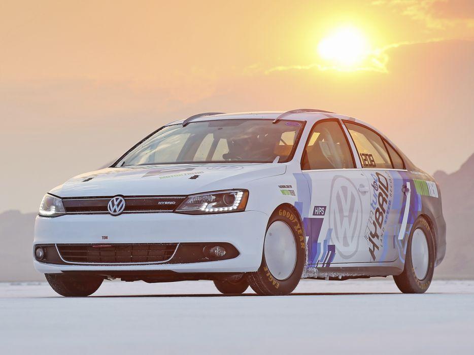 2012 Volkswagen Jetta Hybrid Typ-1B race racing wallpaper
