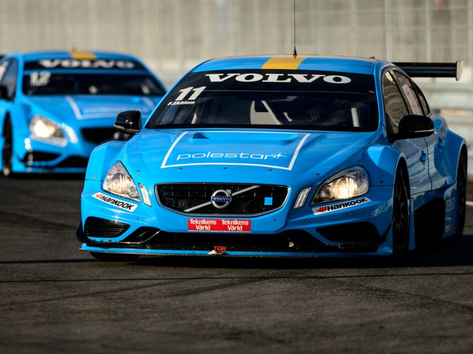 2012 Volvo S60 TTA race racing wallpaper