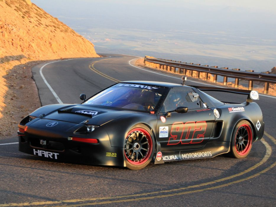2013 Acura NSX Pikes Peak race racing wallpaper
