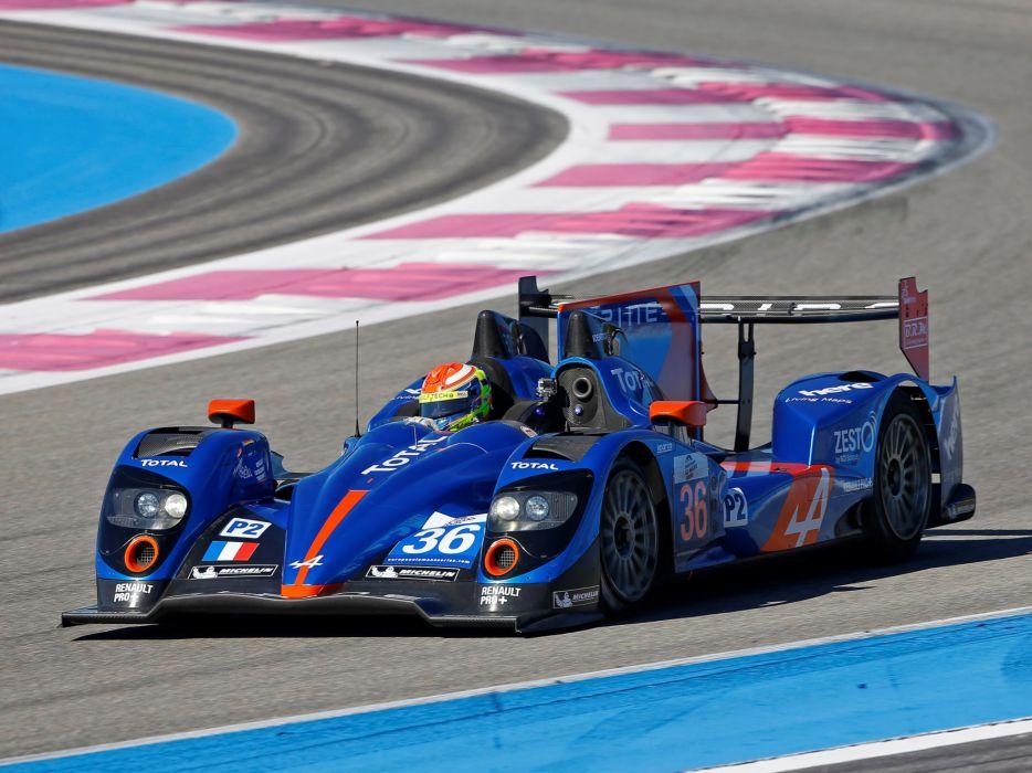 2013 Alpine A450 Le-Mans race racing wallpaper