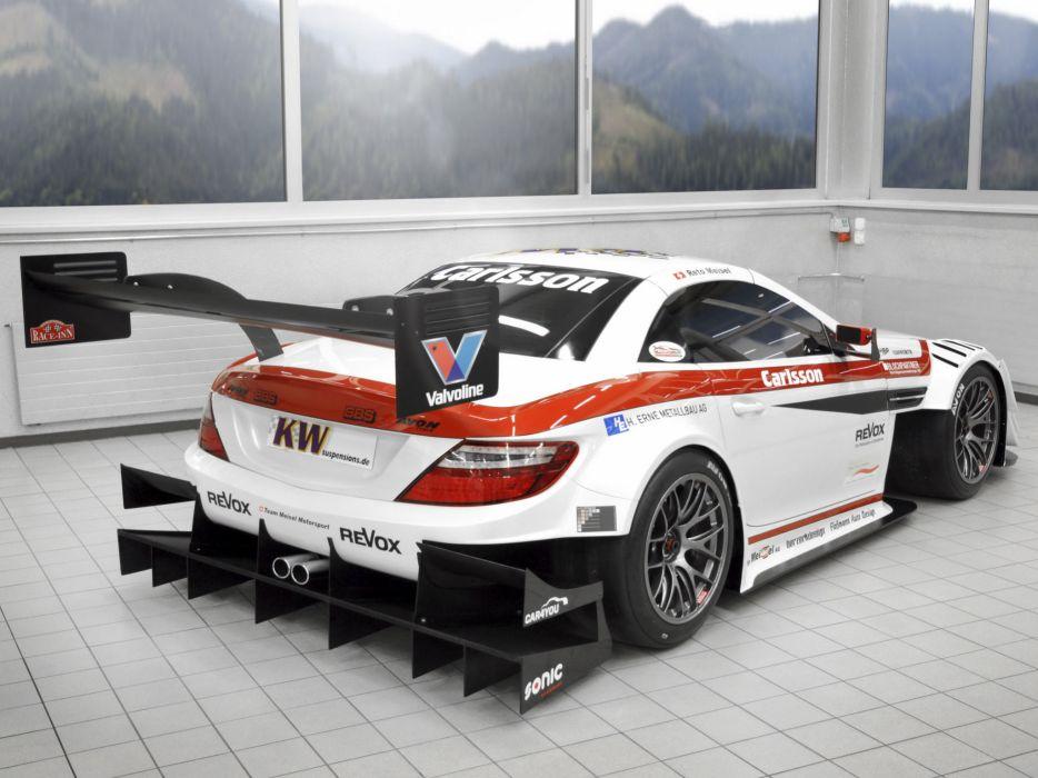 2013 Carlsson Mercedes Benz SLK 340 R172 race racing  g wallpaper