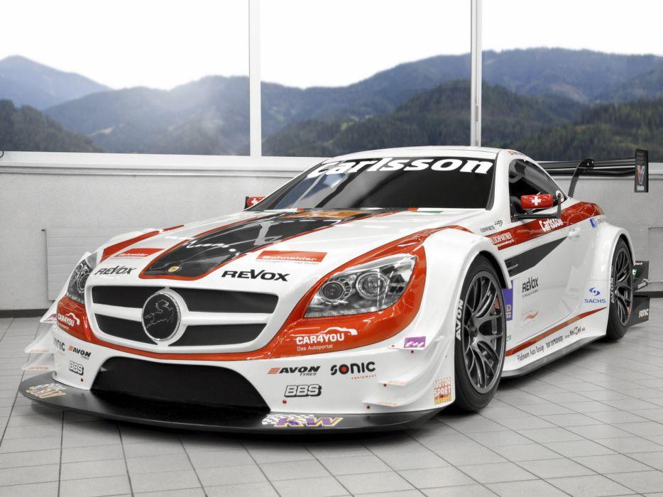 2013 Carlsson Mercedes Benz SLK 340 R172 race racing wallpaper