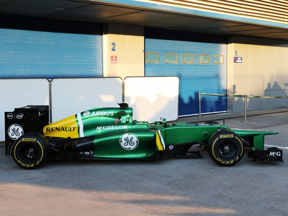 2013 Caterham CT03 formula one race racing e wallpaper