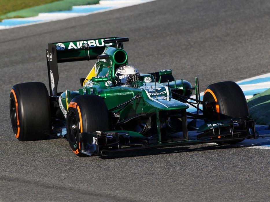 2013 Caterham CT03 formula one race racing wallpaper