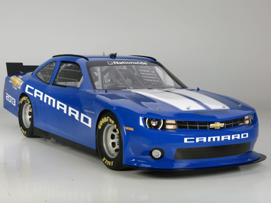 2013 Chevrolet Camaro NASCAR Nationwide Series race racing q wallpaper