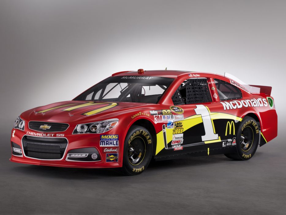 2013 Chevrolet S-S NASCAR Sprint Cup Series race racing   g wallpaper