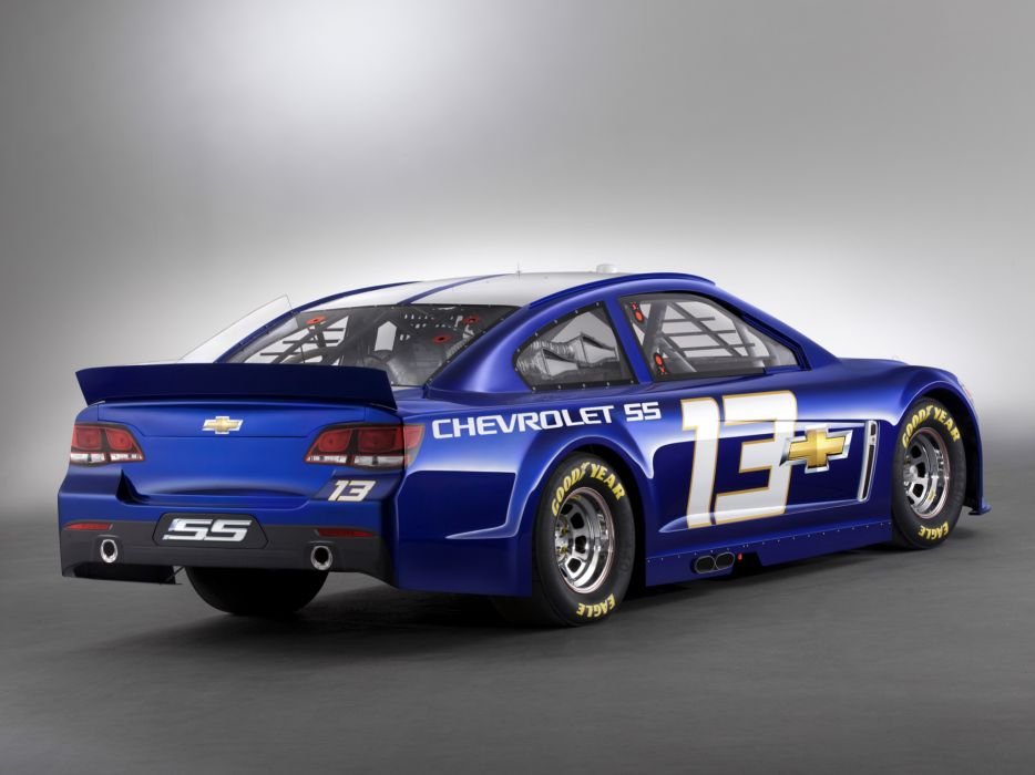 2013 Chevrolet S-S NASCAR Sprint Cup Series race racing   g wallpaper