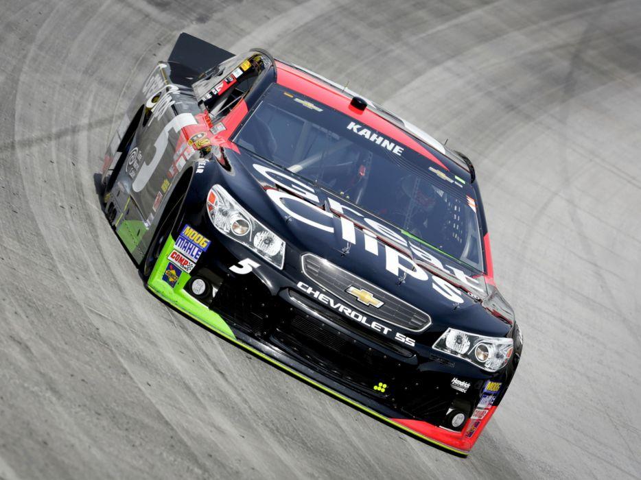 2013 Chevrolet S-S NASCAR Sprint Cup Series race racing e wallpaper