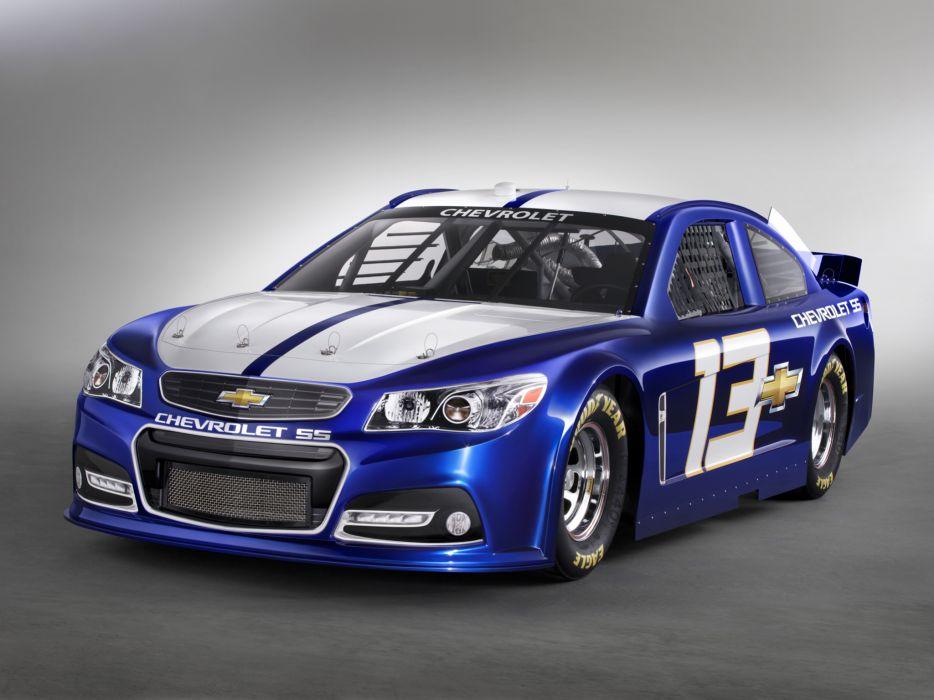 2013 Chevrolet S-S NASCAR Sprint Cup Series race racing q wallpaper
