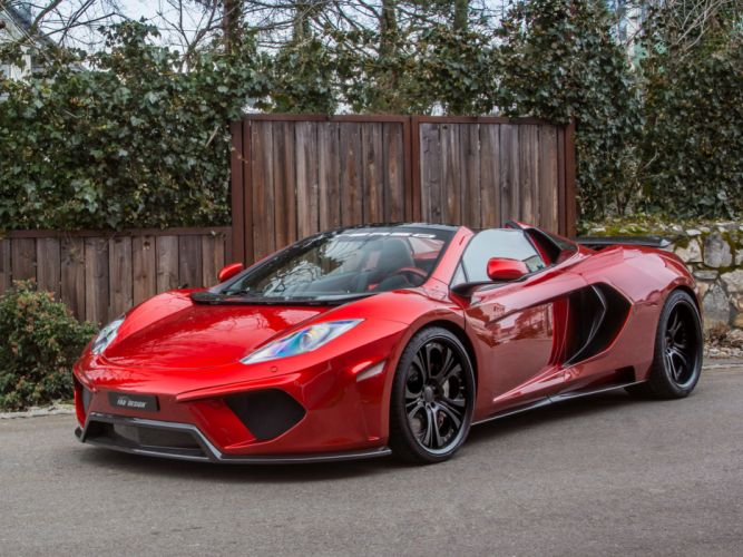 2013 FAB-Design McLaren MP4-12C Spyder Terso supercar supercars g wallpaper