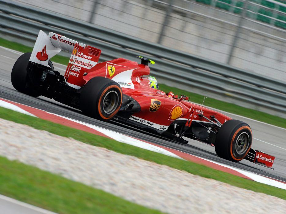 2013 Ferrari F138 formula one race racing   gw wallpaper