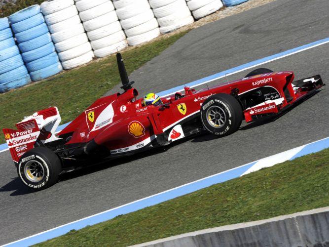 2013 Ferrari F138 formula one race racing f wallpaper
