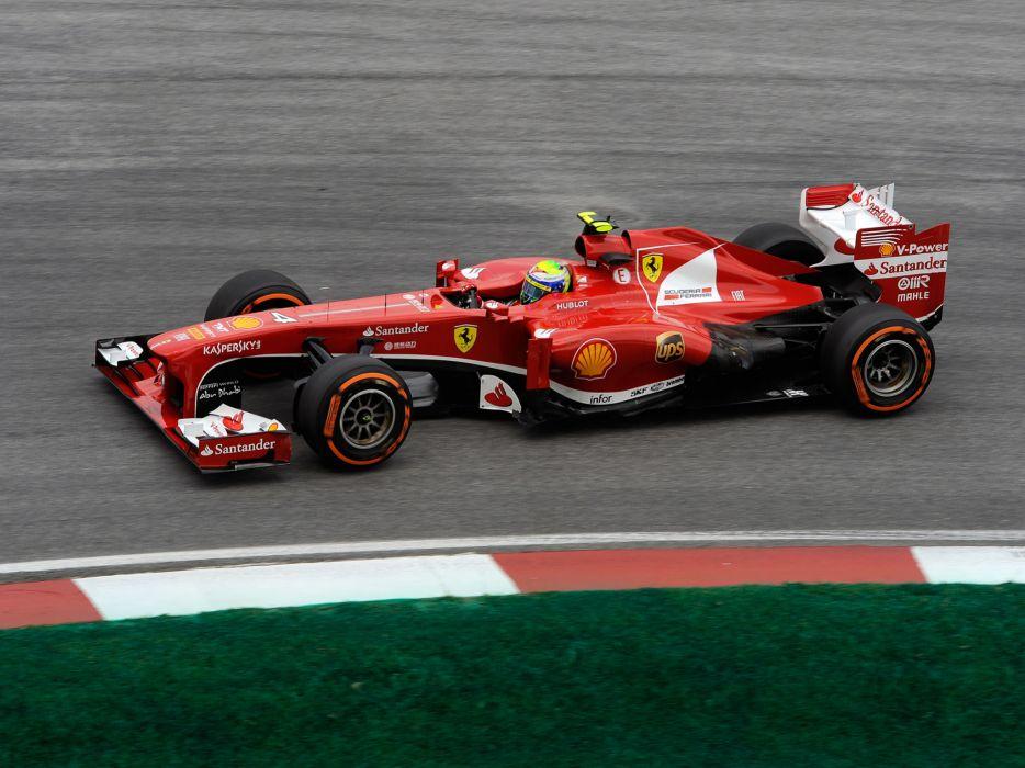 2013 Ferrari F138 formula one race racing wallpaper
