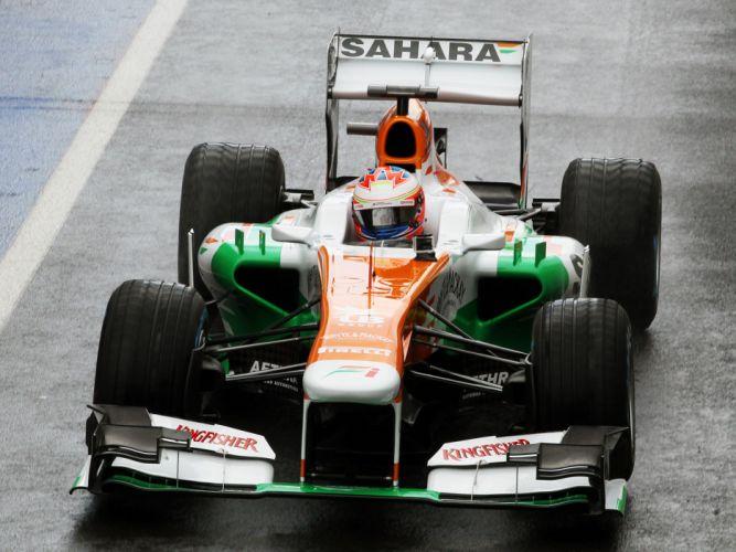 2013 Force India VJM06 formula one race racing g wallpaper
