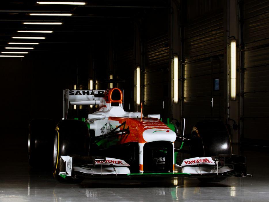 2013 Force India VJM06 formula one race racing  f wallpaper
