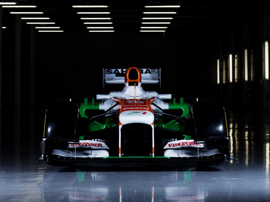2013 Force India VJM06 formula one race racing wallpaper