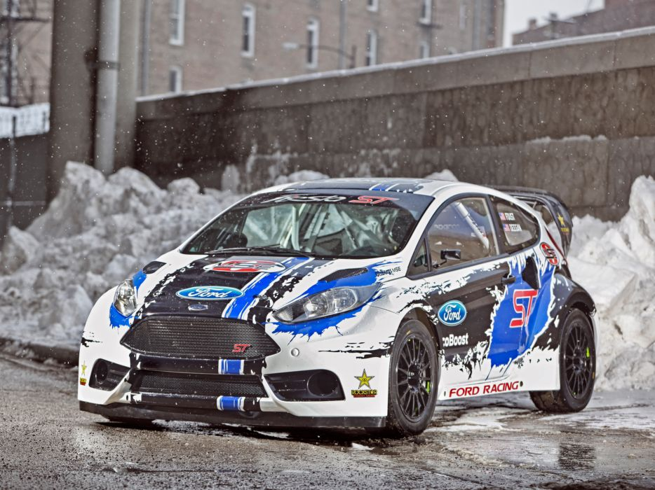 2013 Ford Fiesta S-T GRC race racing wallpaper