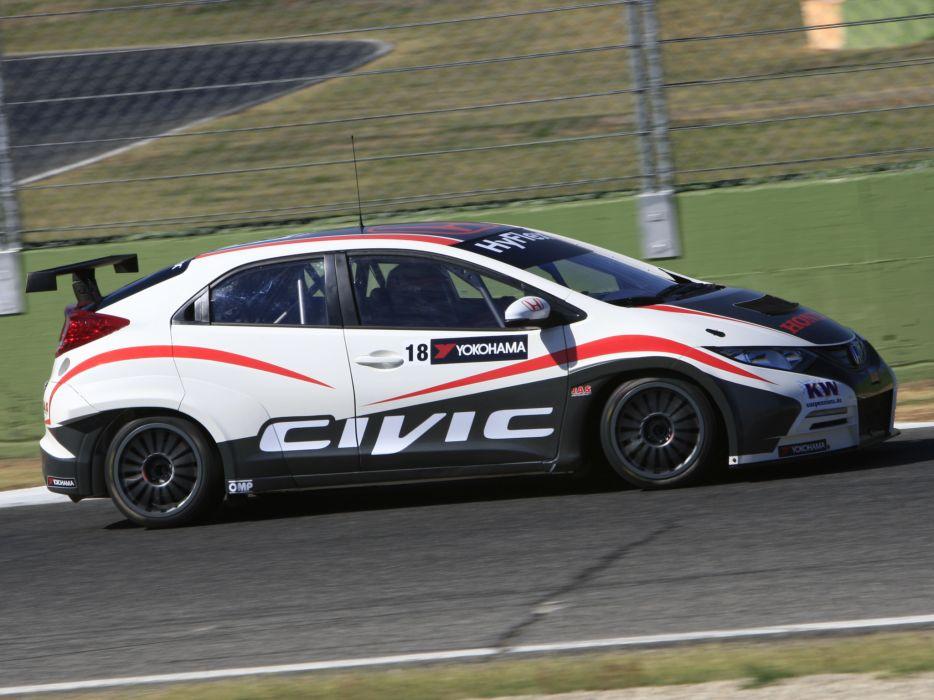 2013 Honda Civic WTCC race racing   f wallpaper