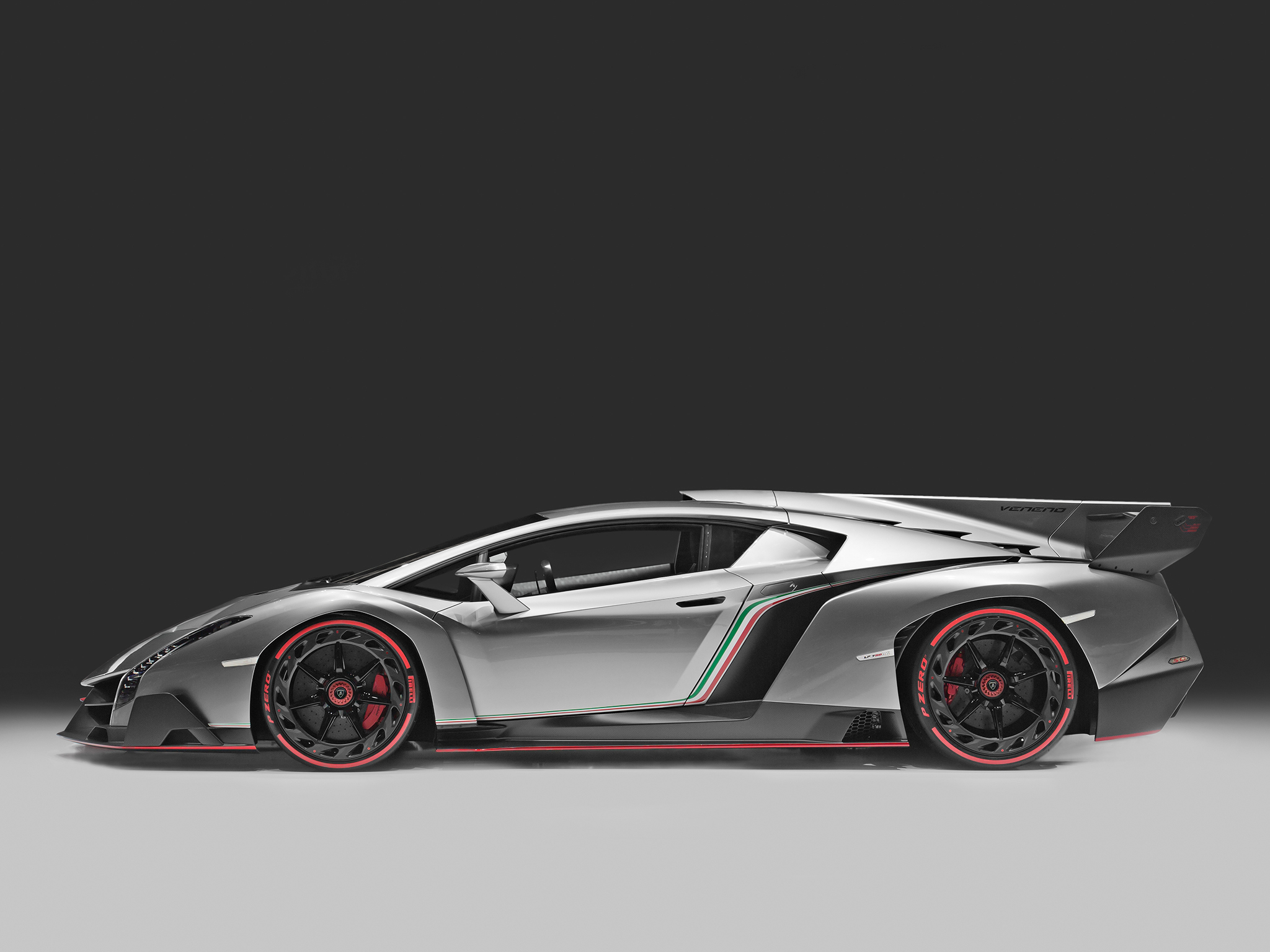 white lamborghini veneno wallpaper
