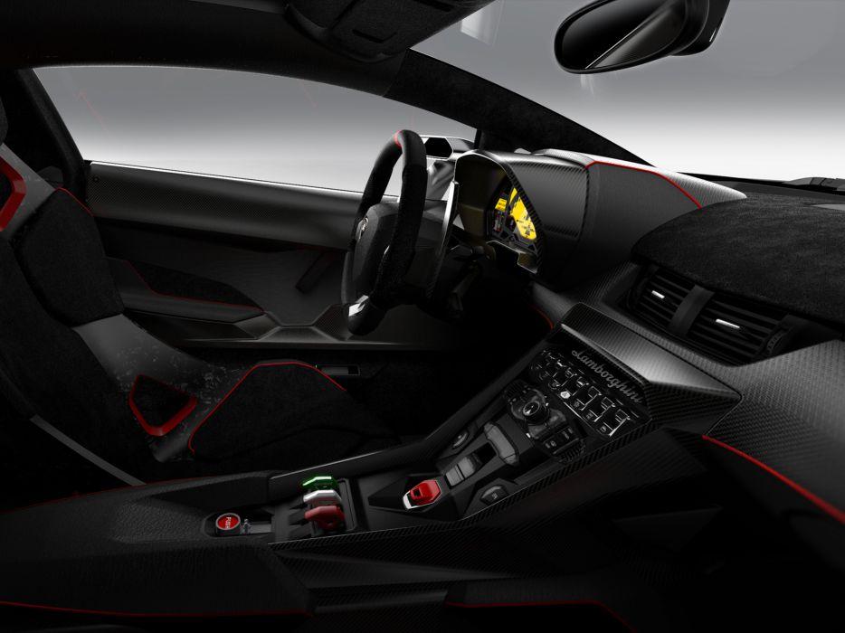 2013 Lamborghini Veneno supercar supercars interior wallpaper