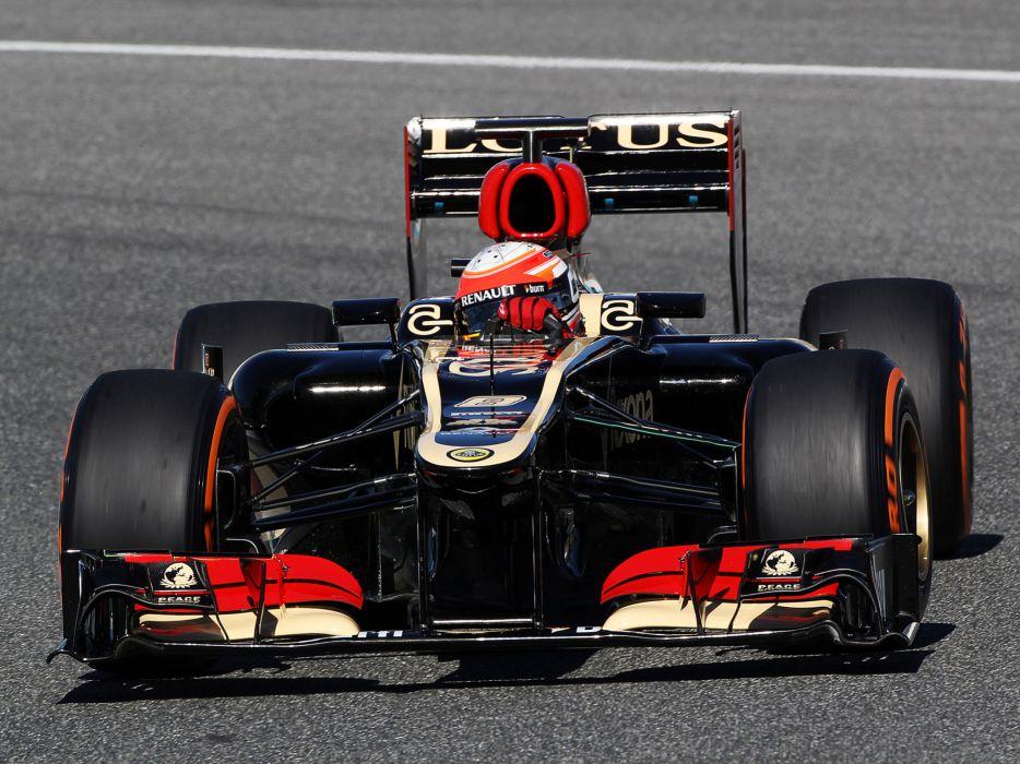 2013 Lotus E21 Formula One race racing  f wallpaper