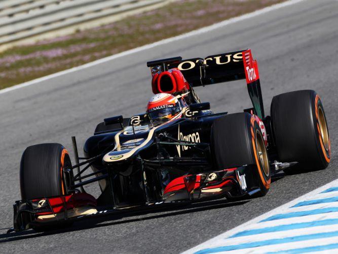 2013 Lotus E21 Formula One race racing d wallpaper