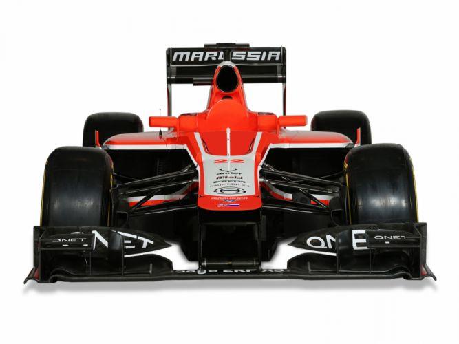 2013 Marussia MR02 formula one race racing wallpaper
