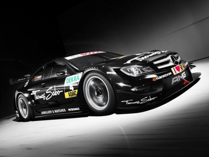 2013 Mercedes Benz AMG DTM C204 race racing wallpaper