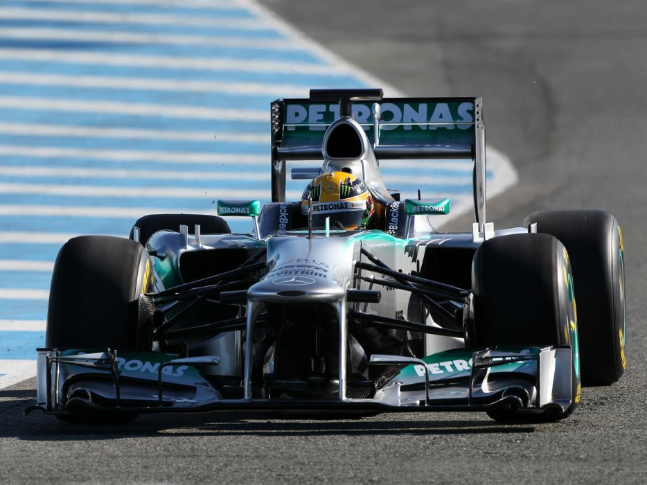 2013 Mercedes G-P MGP W04 formula one race racing    gg wallpaper