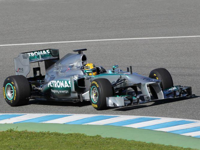2013 Mercedes G-P MGP W04 formula one race racing ga wallpaper