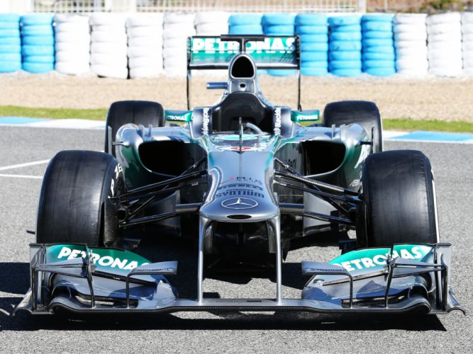 2013 Mercedes G-P MGP W04 formula one race racing wheel wheels wallpaper