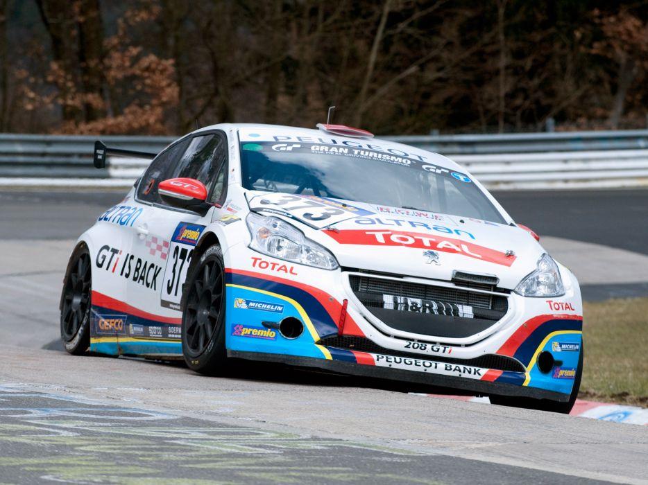 2013 Peugeot 208 GTi race racing  hg wallpaper