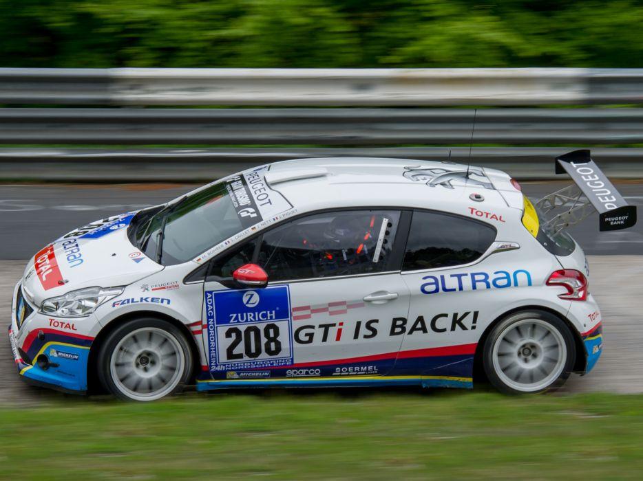 2013 Peugeot 208 GTi race racing t wallpaper